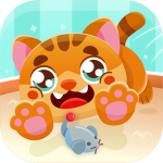 Cute cat games for children from 3 to 6 years Mod Apk