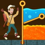 Pull Him Up: Brain Hack Out Puzzle game Mod Apk