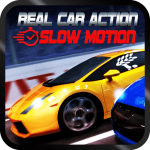 Real car action with slow motion Paid Mod Apk