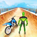 Superhero Bike Stunt GT Racing - Mega Ramp Games Mod Apk