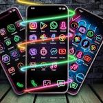 Neon App Icons