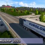 Euro Truck Simulator : Cargo Truck Games 2021 Mod Apk